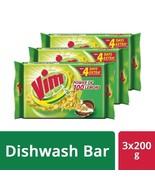 3 X 200 gm Vim Dishwash Bar, Power OF 100 Lemons  with free shipp  - $22.94