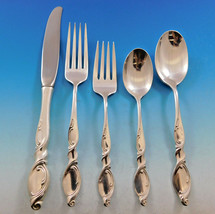 Silver Swirl by Wallace Sterling Silver Flatware Set for 8 Service 47 pc... - $1,800.00