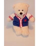 Build A Bear Bear  with Base Ball Jersey shirt - $11.53