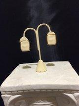 Rectangular Shaped Gold Toned Vintage Monet Earrings - $20.00