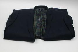U.S. Polo Assn. Men's Cotton Navy Sport Coat Blazer, 46 Regular - $34.99