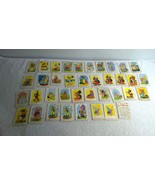 1964 Disney Happy Families Trading Cards Regina Confections New Zealand ... - $96.74