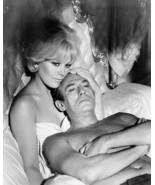 Legend of Lylah Clare 1968 Kim Novak in bed with Peter Finch 8x10 photo - $9.75