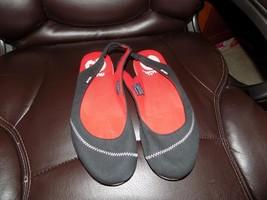 ff17274ad286 Teva Mush Black Sandals Flats Slingback Canvas Size 10 Women  39 s EUC -