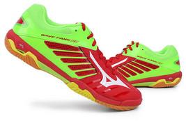 Mizuno FANG RX2 Indoor Shoes Badminton Handball Unisex Red Wide Fit 71GA... - $111.51