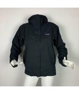Patagonia Jacket Black Storm Hoodie Women Sz S - $99.99