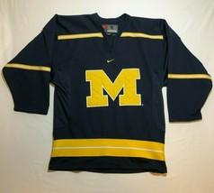 University of Michigan Football Jersey Size S Nike Team 2000s Maize Blue... - $28.05