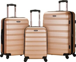 Rockland Melbourne 3 Piece Luggage Set $480 - NEW - FREE SHIPPING - in C... - $184.09
