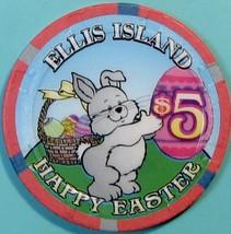 $5 Casino Chip. Ellis Island, Las Vegas, NV. Easter. V18. - $5.99