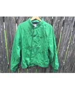 Vintage Pioneer Seed Corn Green Farmer Jacket Sz  L 1980's Swingster - $14.85