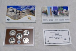 2013  ATB QUARTERS PROOF SET W/ THE MT. RUSHMORE VOTED BEST CIRCULATING ... - $26.02