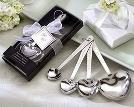"60 ""Love Beyond Measure"" Heart-Shaped Measuring Spoons in Gift Box - $140.17"