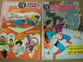 Lois Lane  No 117 and 113 in GD  condition. DC comics  - $18.99