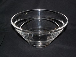 "Waterford Jasper Conran Crystal Aura Glass Bowl 2006-2012 8"" - $34.64"