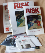RISK Computer Edition World Conquest Game Complete Virgin Games 1991 Vin... - £36.24 GBP