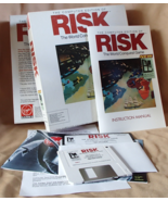 RISK Computer Edition World Conquest Game Complete Virgin Games 1991 Vin... - £28.45 GBP