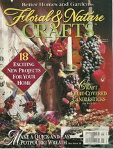 Floral & Nature Crafts Magazine Better Homes and Gardens January 1996  - $6.99