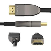 Huaham Fiber HDMI Cable 33FT, 4K 8K Optical HDMI2.0b Cable, Support HDR10, ARC,  image 2