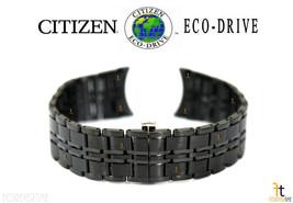 Citizen Eco-Drive AR3015-53E 20mm Noir Plaqué Ion Acier Inoxydable Bracelet de - $231.39