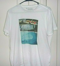 Brian Blelmann Mens Small 100% Cotton Surf Graphic Short Sleeve T Shirt - $13.46