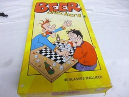 VTG OLDER ADULT GAME-  BEER CHECKERS- SHOTGLASS GAME - BOXED- COMPLETE- S1 - $12.69