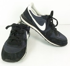 reputable site 20f51 a01f9 Retro Nike Internationalist Vintage Black Whit Womens Sneakers Sz 5.5  316374-013 -  29.69
