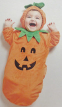Baby Infant PUMPKIN Costume by Hyde and EEK!, Size 0-6 Months, NWT - $9.89