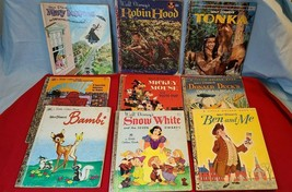 Lot of 9 Vintage Children's Books- DISNEY - $39.99