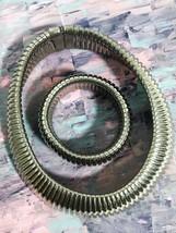 Omega Style Matching Necklace and Bracelet Set - $22.99