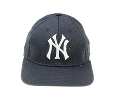 OC Sports NY New York Yankees Team MLB Mens Blue Mesh Baseball Hat Cap S... - $16.82