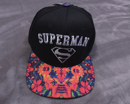 Tm & Dc Comics Superman Adjustable Cap Hat Nwt New - $28.06
