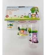 Little Mimos Set of 3 Feeding Bottle Set - New - $10.99