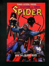 THE SPIDER BOOK TWO: BLOOD MARK-1991 PULP HERO COMIC VF/NM - $14.90