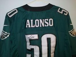Autographed Kiko Alonso #50 Philadelphia Eagles NFL Nike Stitched Jersey... - $79.19