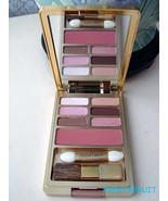 Gold Estee Lauder Palette~6 EyeShadow & Blush~NUDE ROSE - $25.73