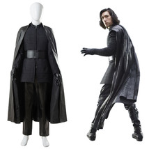 Cosplay Star Wars 8 VIII The Last Jedi Kylo Ren Suit Cape Costume Outfit... - $129.00+