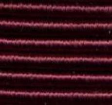 Burgundy (6320) DMC Memory Thread 3 yds fiber copper wire 100% colorfast  - $2.70