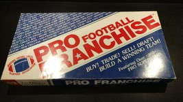 NFL Pro Football Franchise Board Game 1987 Collectible 100% Complete - $27.95