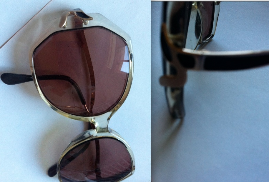 7b454101e1 MARCOLIN Stephanie Marchon eyeglasses frames vintage Mad Men Made in Italy  RARE!