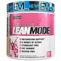 Fat Burners Evlution Nutrition Lean Mode Stimulant-Free Weight Loss Supp... - $26.64