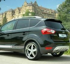 2 Decal sticker Stripe kit for Ford KUGA headlight sport line ST TODOTERRENO - $33.10