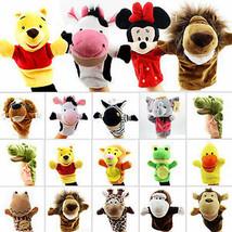 Family Hand Glove Puppet Soft Plush Doll Baby Education Cartoon Animal K... - $8.79