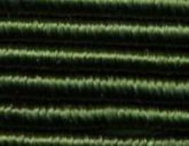 Dark Green (6330) DMC Memory Thread 3 yds fiber copper wire 100% colorfast  - $2.70