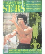 RARE 1977 FIGHTING STARS BRUCE LEE CHUCK NORRIS KARATE KUNG FU MARTIAL ARTS - $17.99