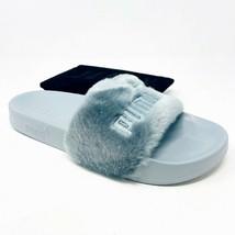 Puma Leadcat Fenty Quarry Silver 362266 09 Womens Slides Sandals Size 8.5 - $74.95