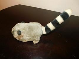 vintage battery powered raccoon stuffed animal 1970s - $5.00