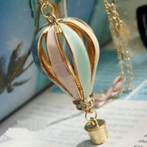 Specials @ European And American Jewelry Colorful Hot Air Balloon Neckla... - $5.62