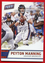2016 Panini Father Day Packs Peyton Manning THICK STOCK 27/50 Broncos #1 - $19.79
