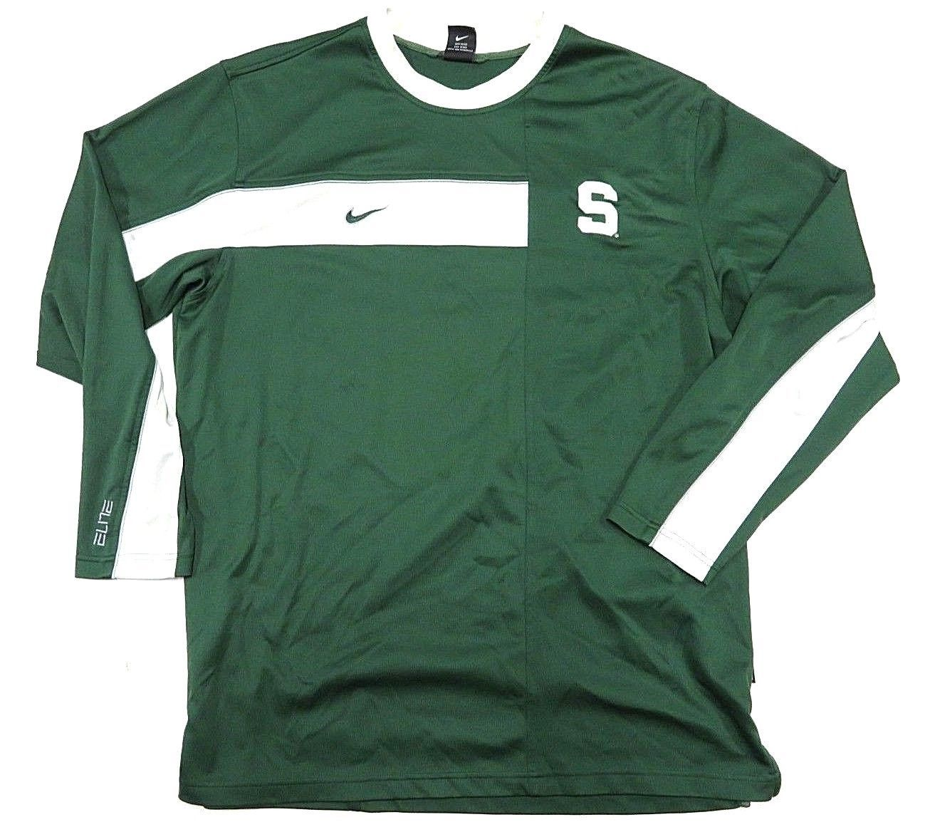 timeless design 9854b db456 90s NIKE NCAA Michigan State Spartans Elite and 50 similar items