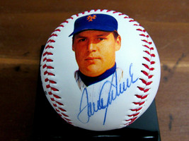 TOM SEAVER 1969 WSC NEW YORK METS HOF SIGNED AUTO 1992 HOF STAT BASEBALL... - $247.49
